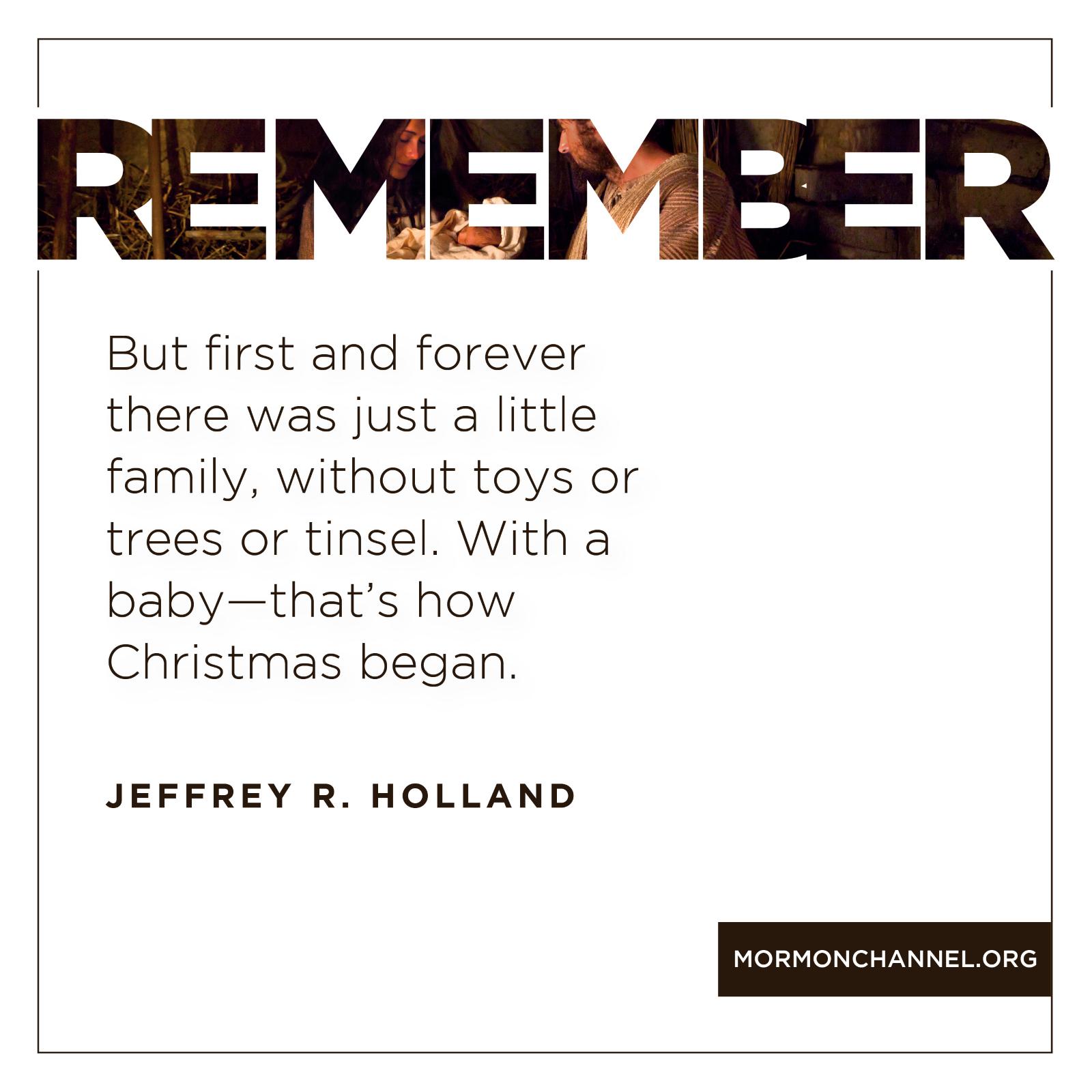 How Christmas Began