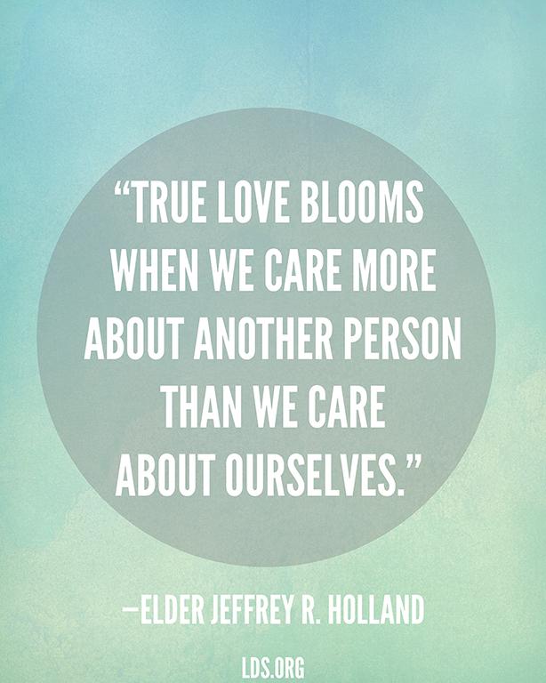 True Love Blooms Impressive Lds Love Quotes