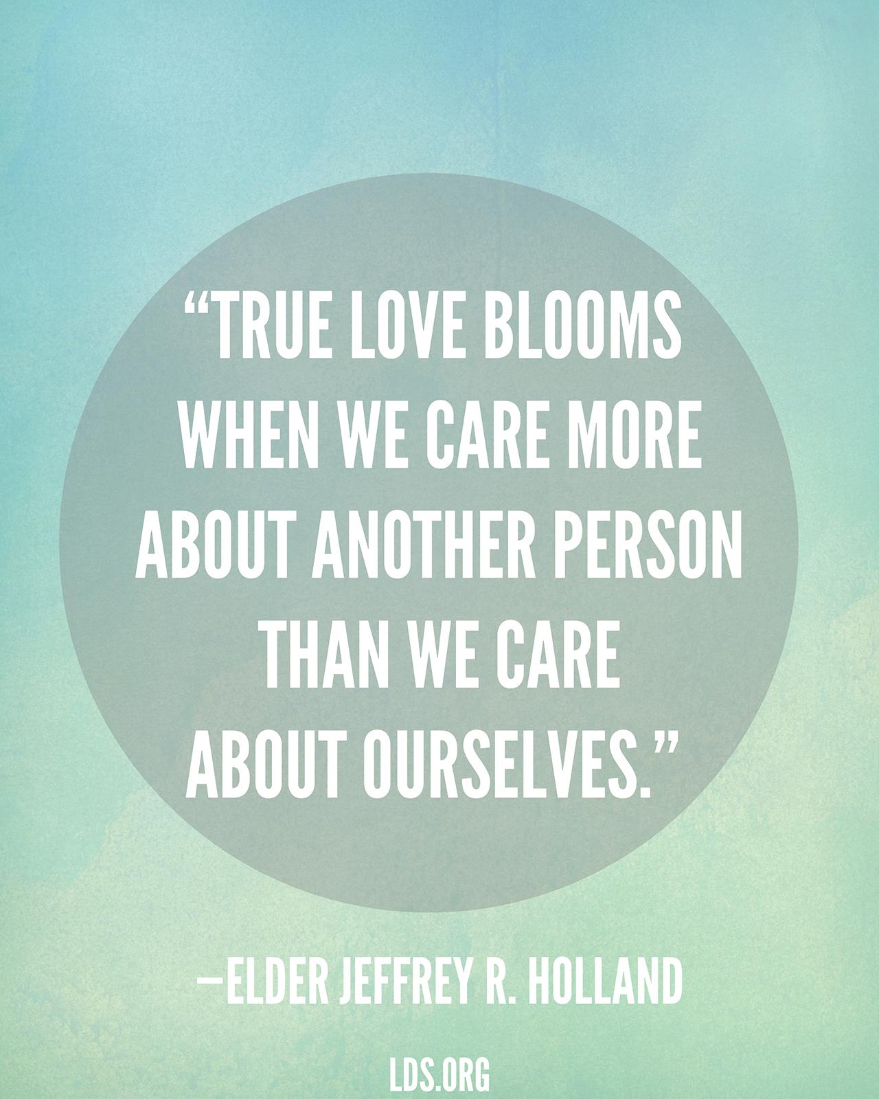 True Love Quote True Love Blooms