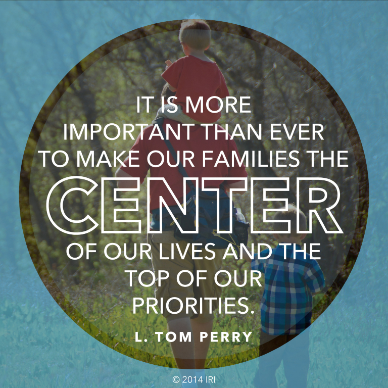 Why Family Is Important Quotes: Center Of Our Lives