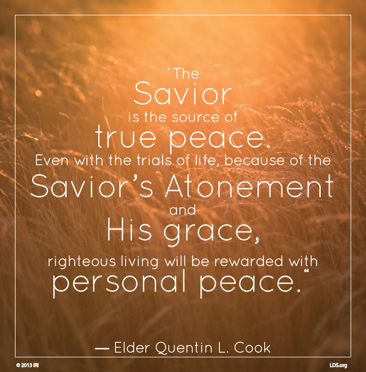 Lds Quotes On Peace