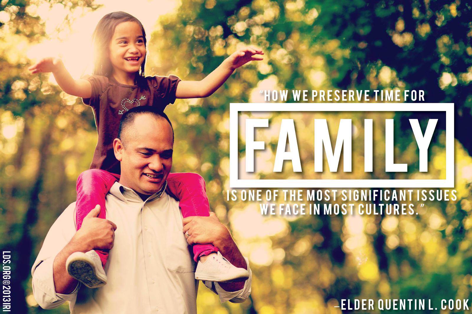 preserve family time