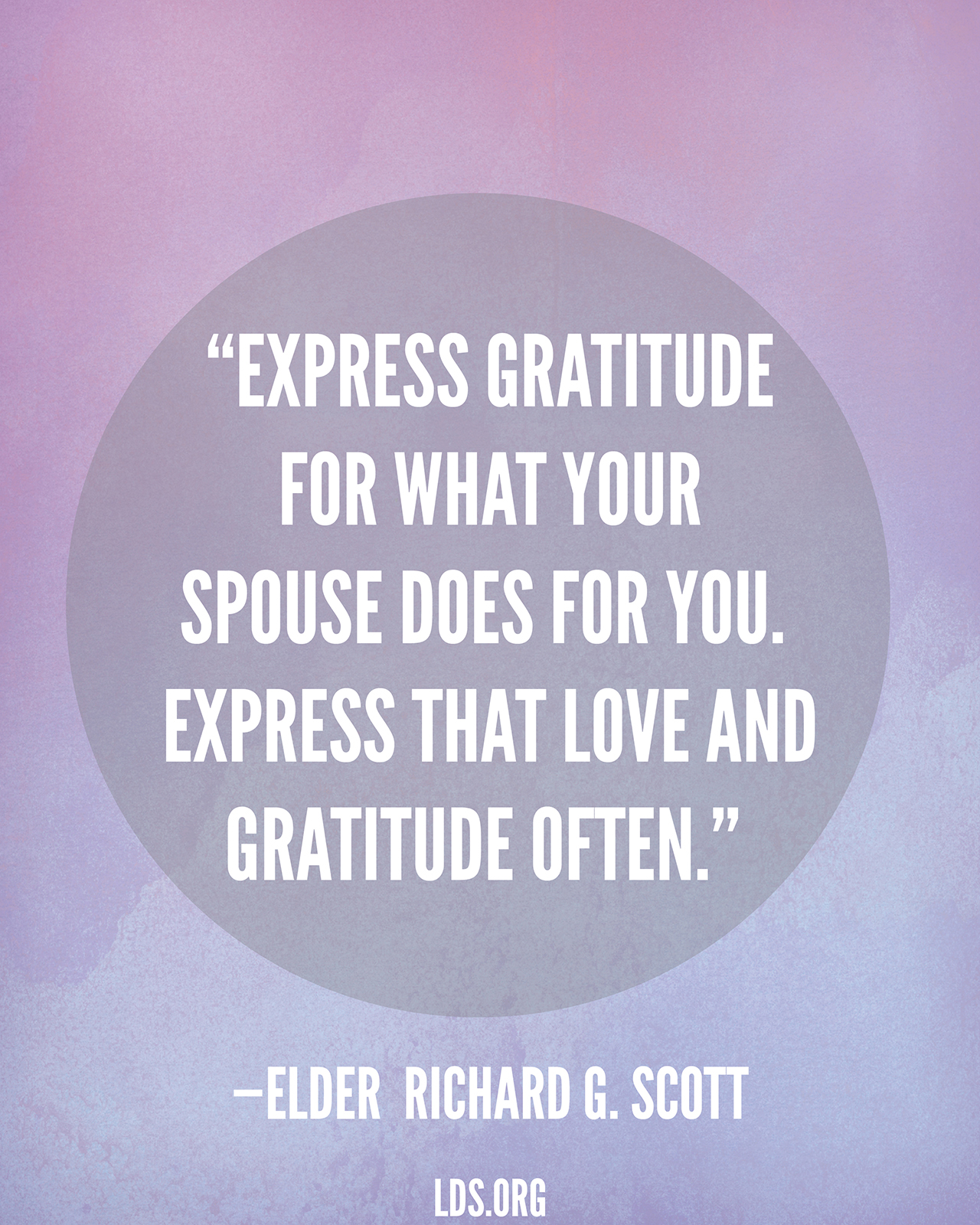 Express Love And Gratitude