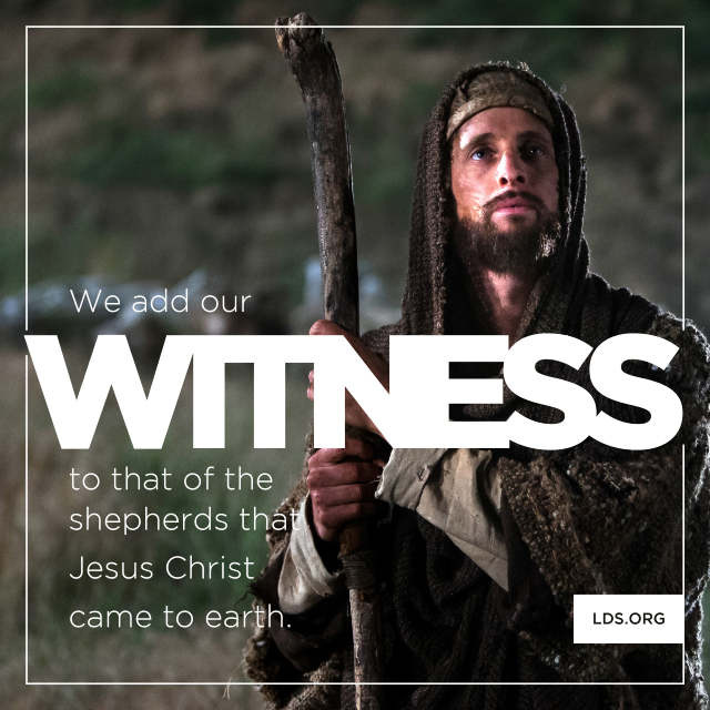 109 Best Christmas Lds Images On Pinterest: Witness