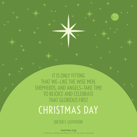 Lds Christmas Quotes.Christmas Day