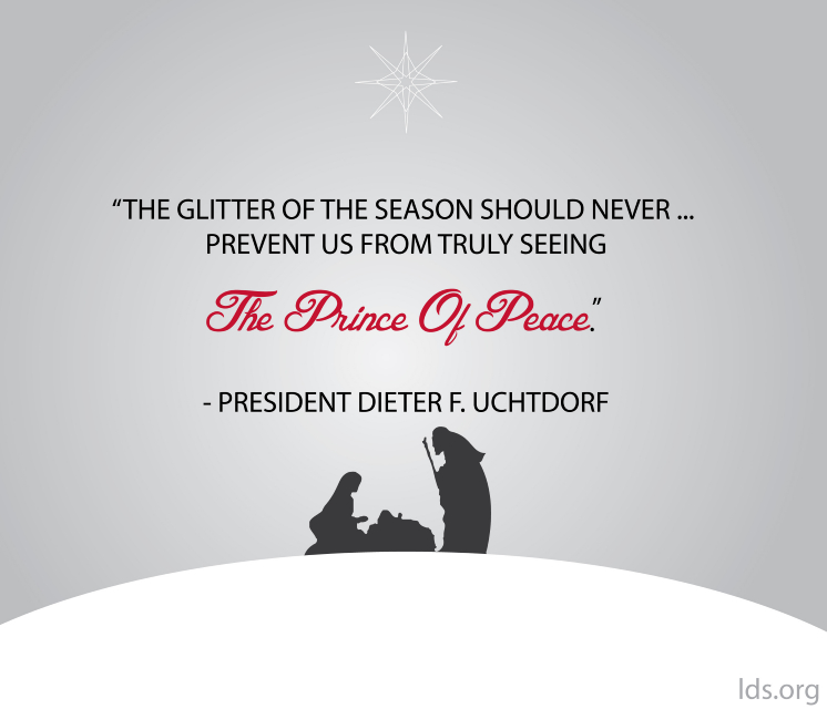 109 Best Christmas Lds Images On Pinterest: Seeing The Prince Of Peace