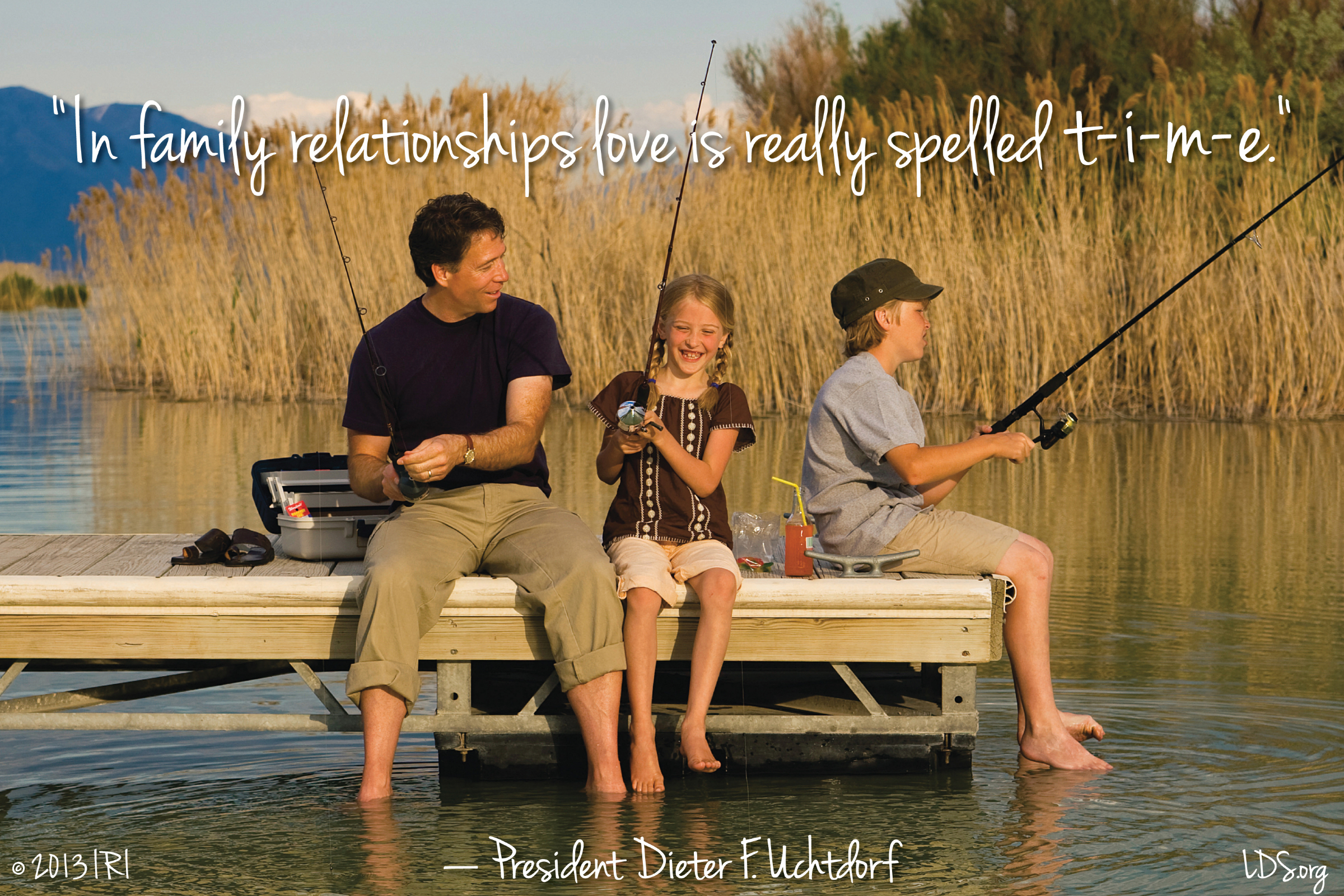 Love Fishing Quotes Love In Family Relationships