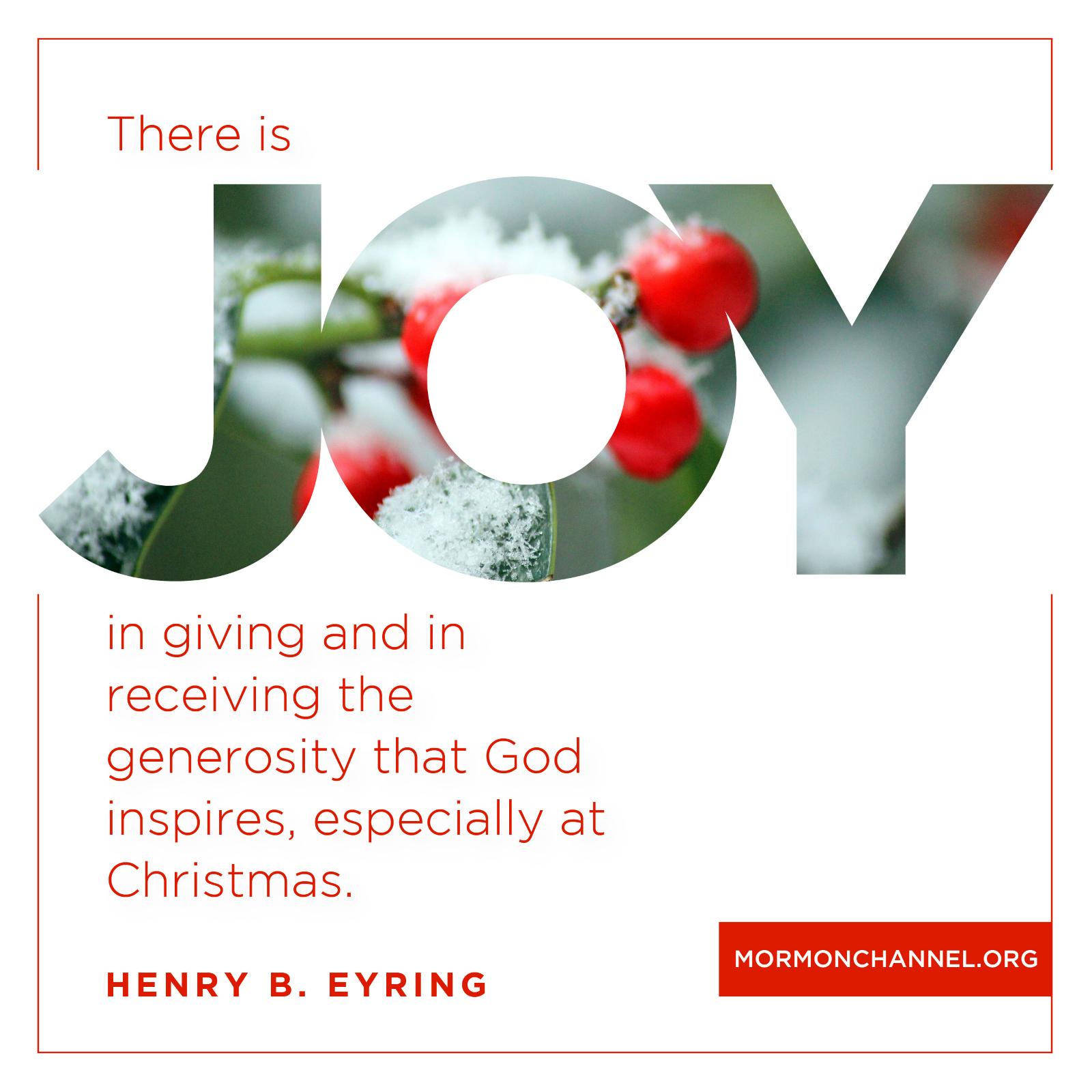 Delicieux Joy In Giving