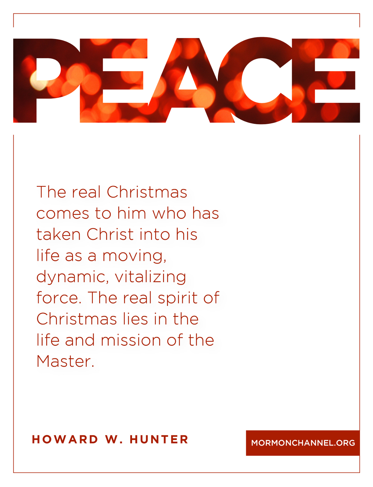 Lds Christmas Quotes.Peace