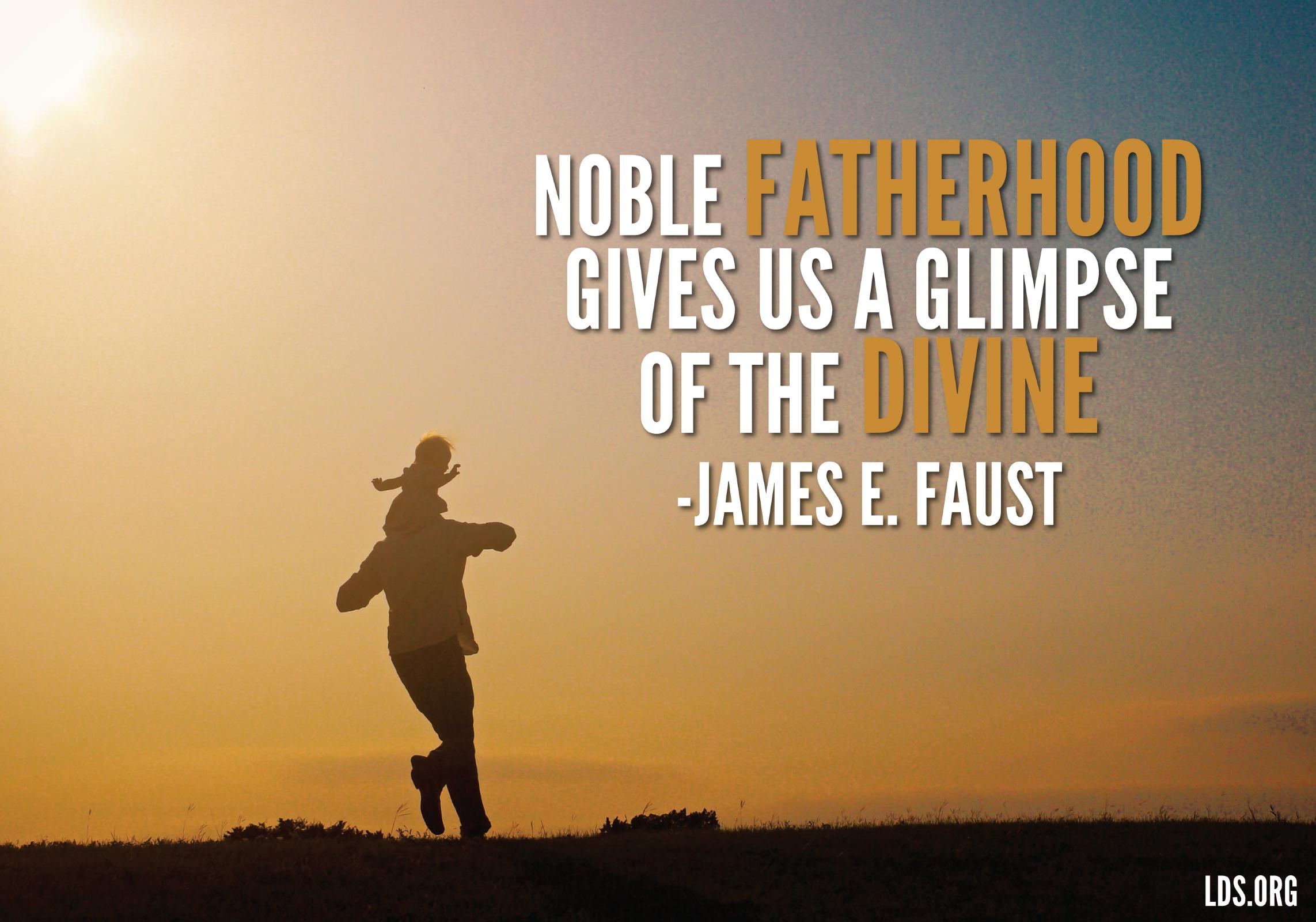 Exceptional Divine Fatherhood