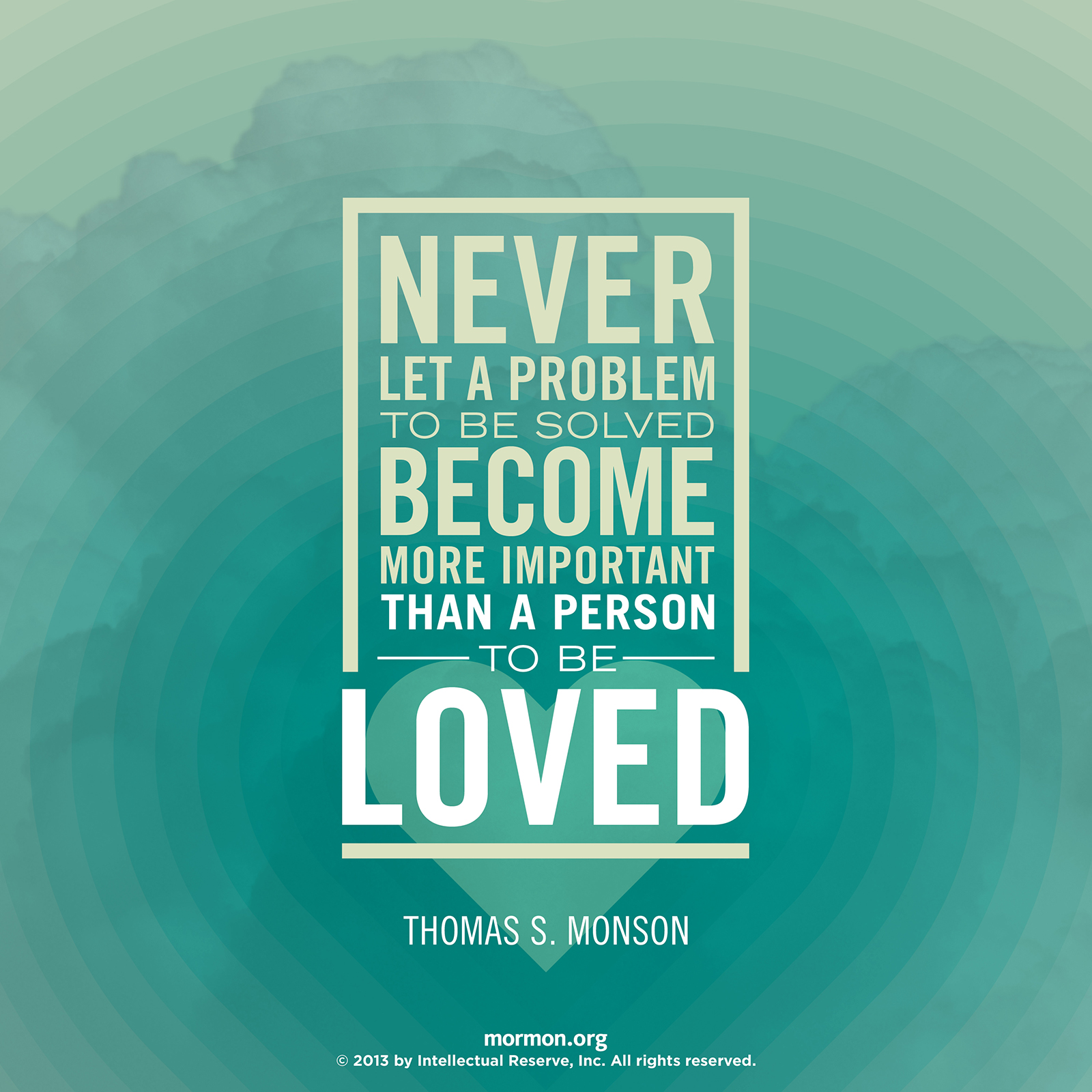 Thomas S Monson Quotes Problem to Be Solved Thomas S Monson Quotes