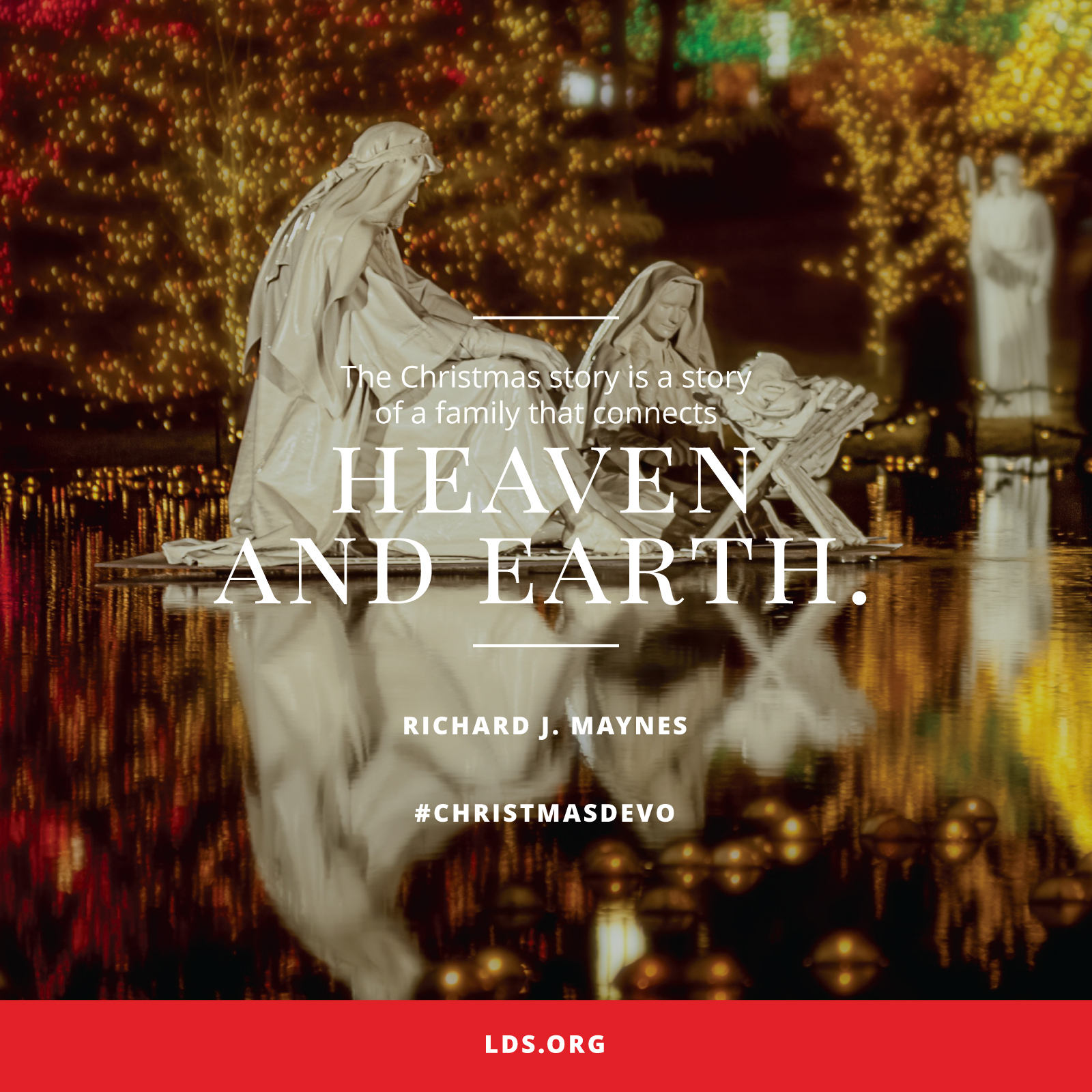 109 Best Christmas Lds Images On Pinterest: Heaven And Earth