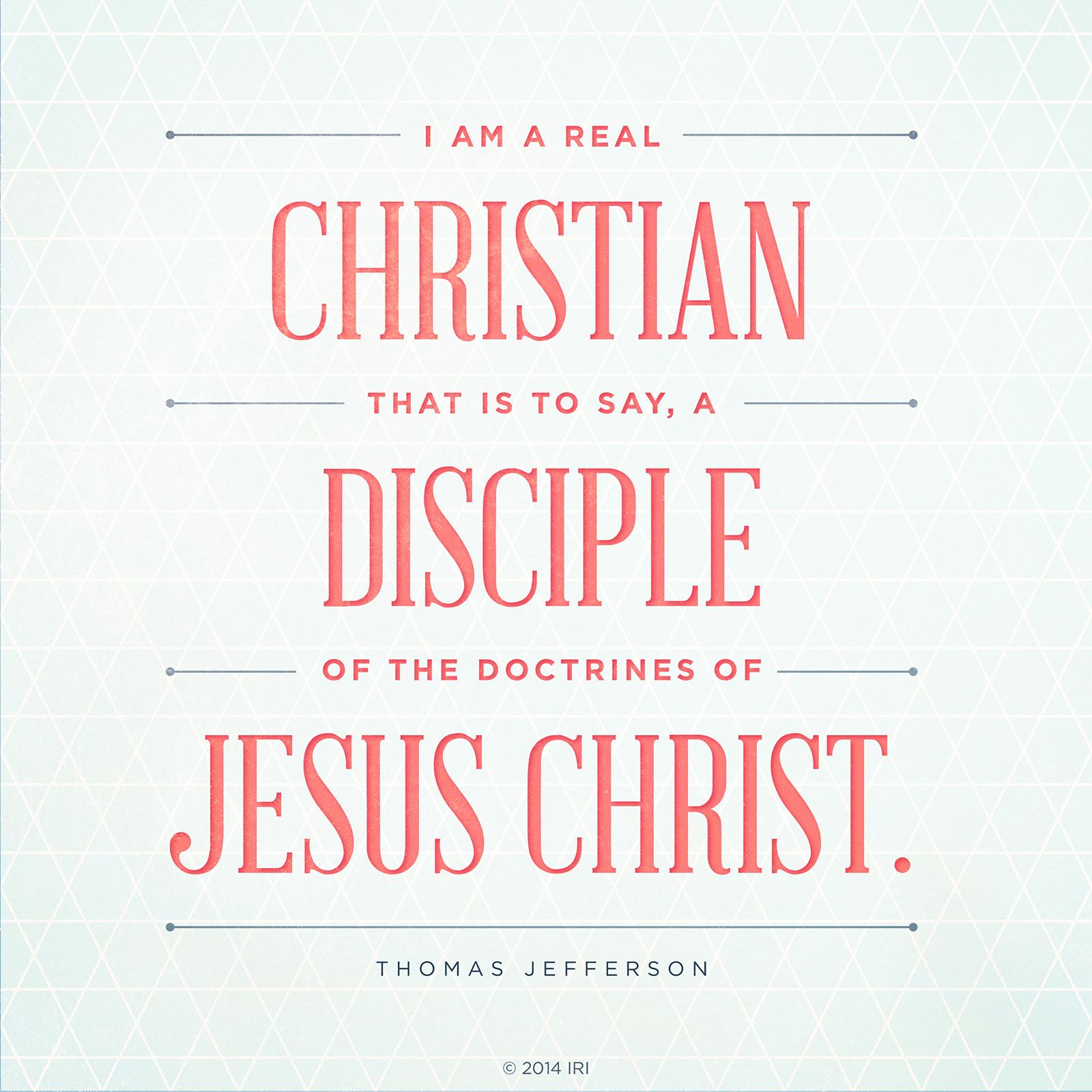 A Christian A Disciple
