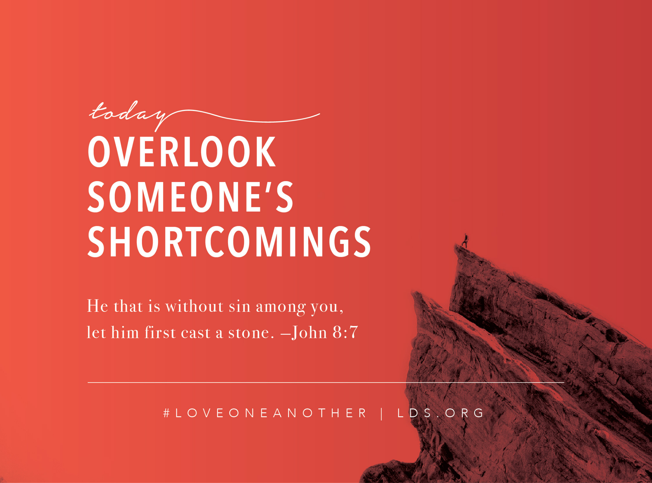 Overlook Someone\'s Shortcomings