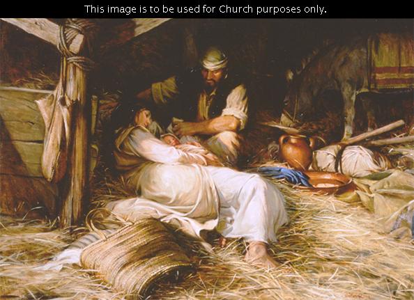 Nativity paintings wallpaper