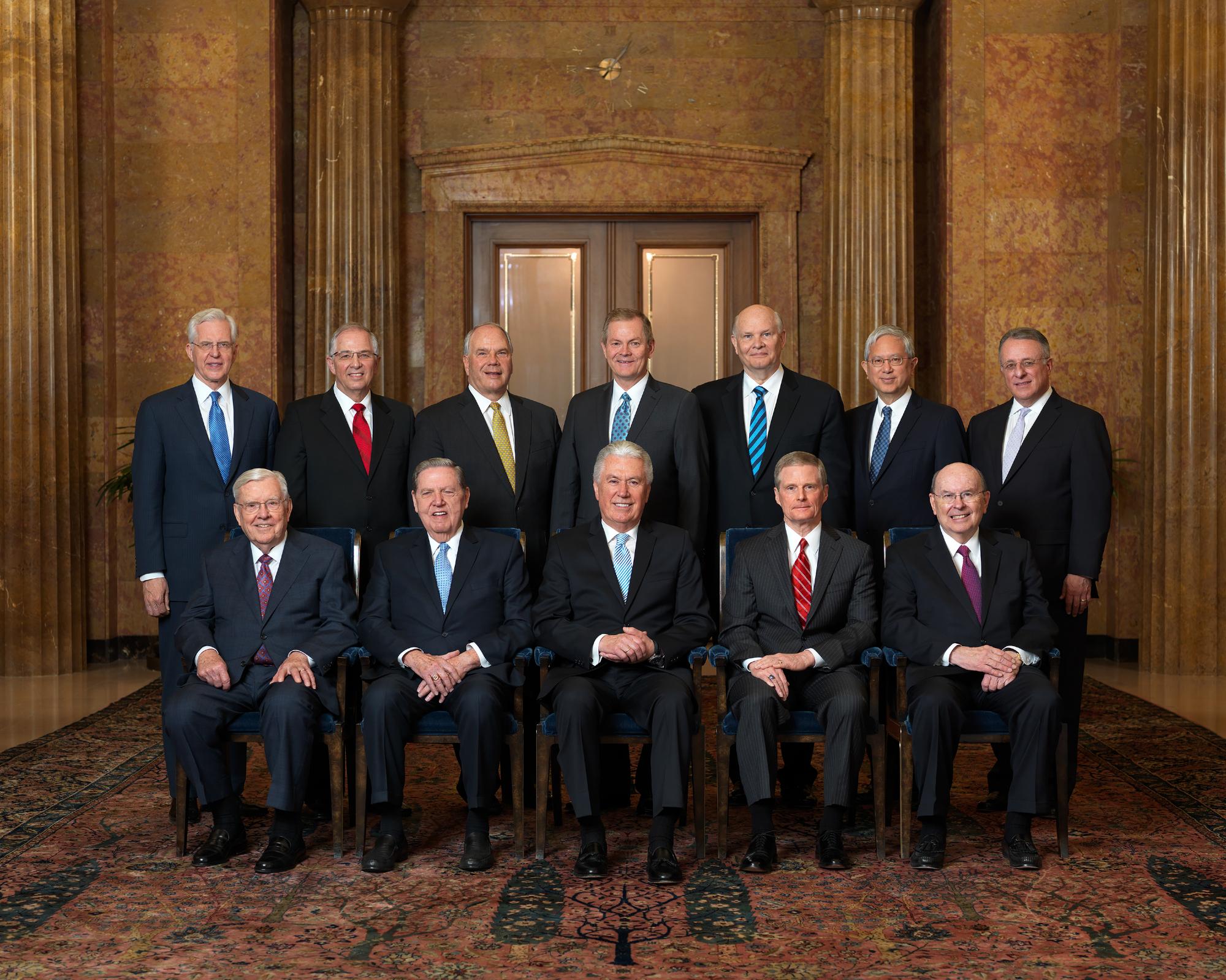 Quorum of the Twelve Apostles,...