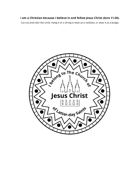photograph relating to Who I Am in Christ Printable named I Am a Christian