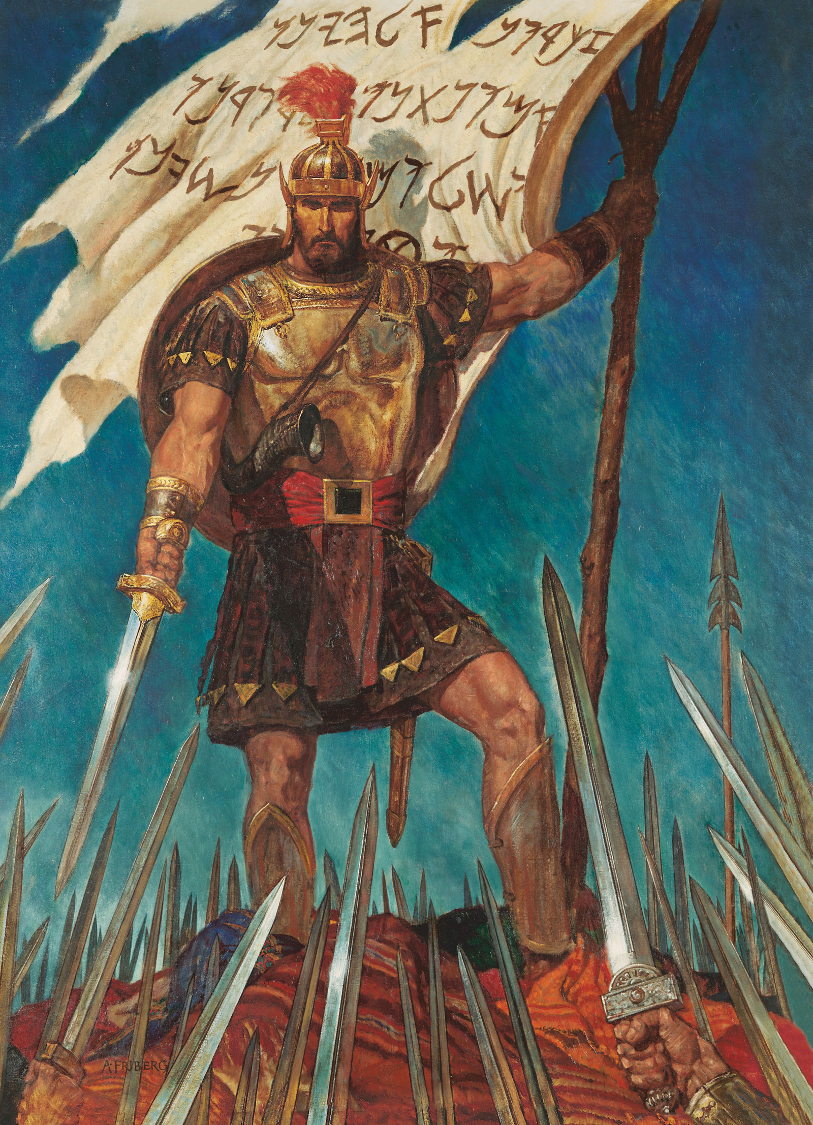 Captain moroni raises the title of liberty captain moroni and the download voltagebd Gallery