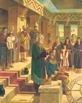 King Benjamin Confers the Kingdom on Mosiah