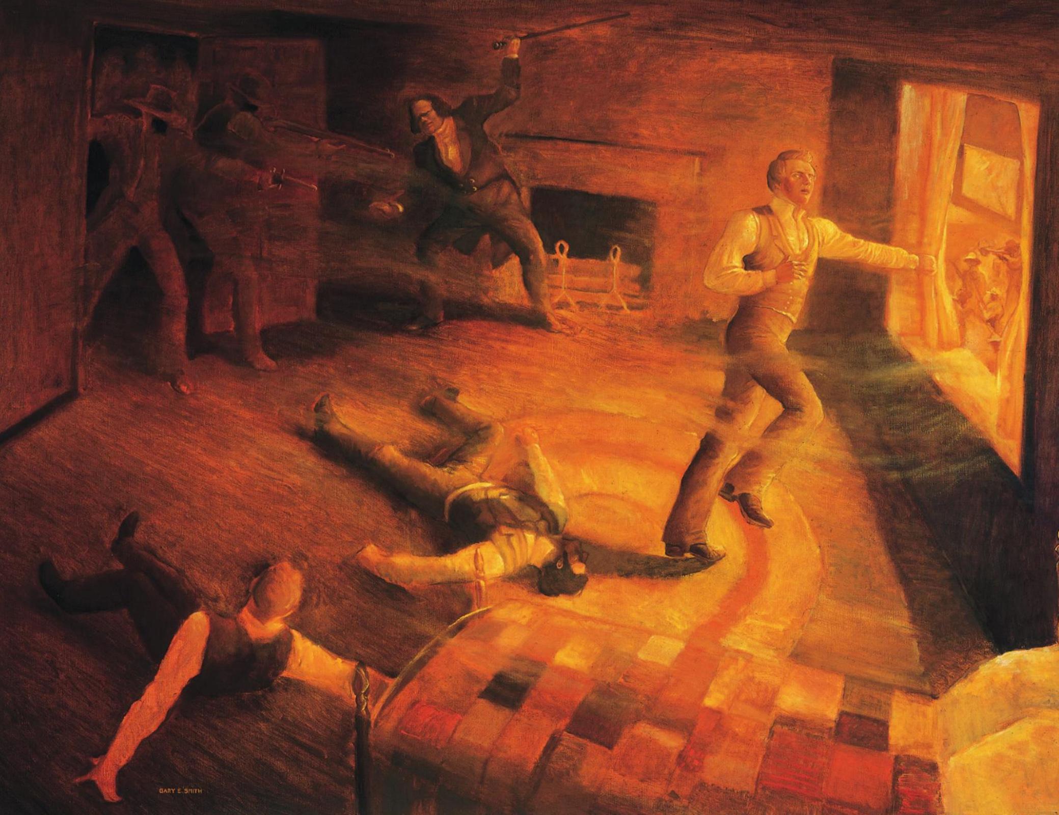 El martirio de José y de Hyrum