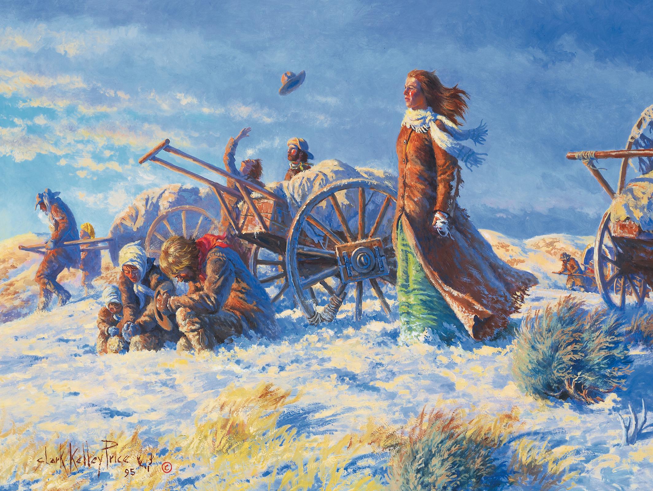 Ruta del sacrificio: Valle de la promesa (pioneros en carros de mano ...