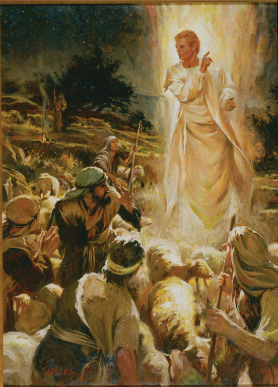 Retour/Méditation Biblique pour le Temps de l'Avent/< ou >/L'Enfance de Jésus/ Angel-appears-to-shepherds-603730-tablet