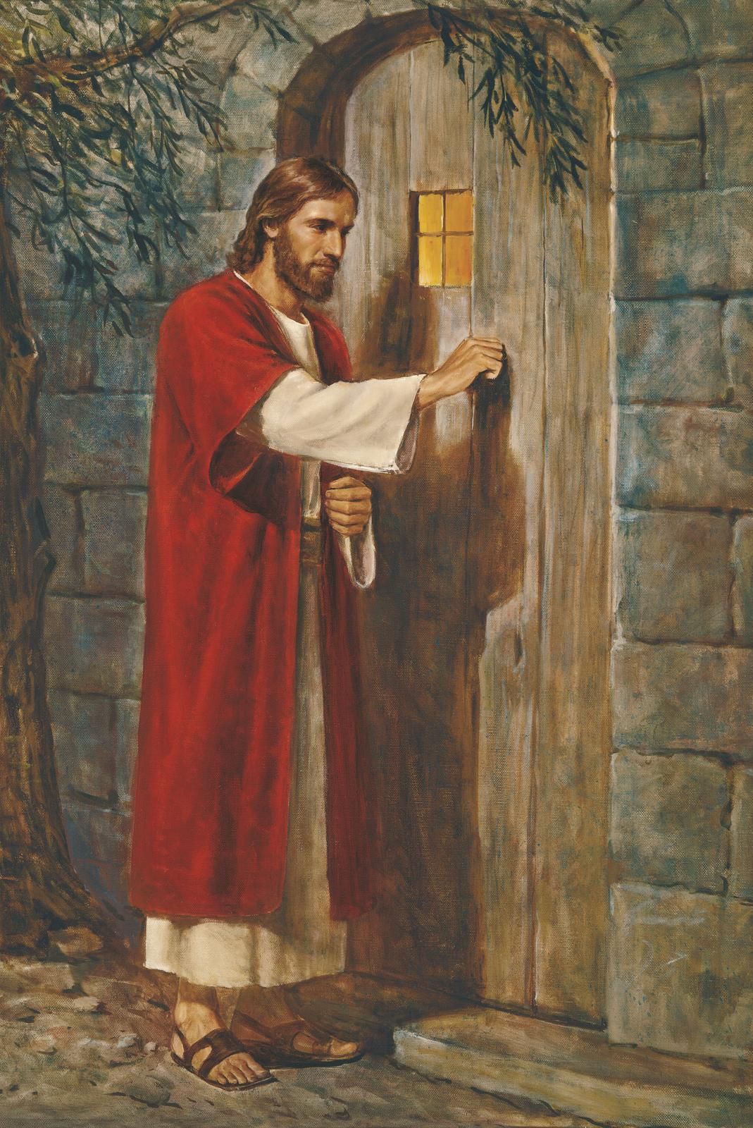 Jesus bate porta for Jesus a porta