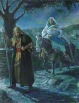 Joseph and Mary Travel to Bethlehem