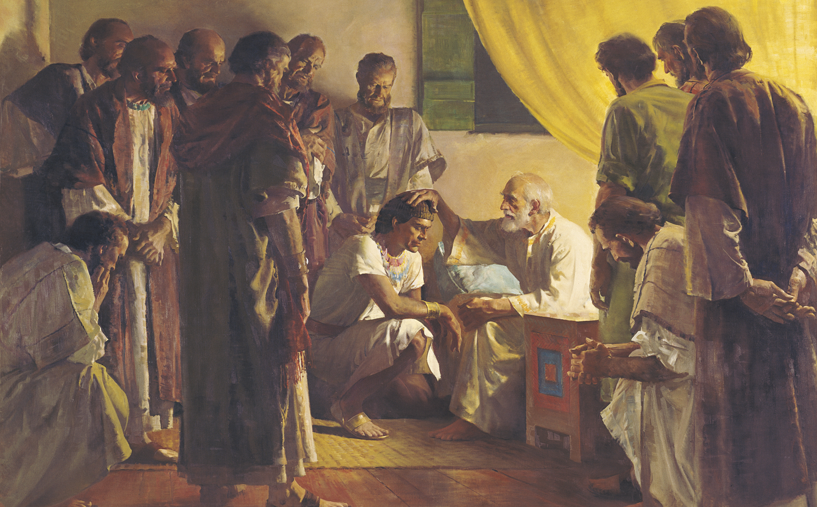 Jacob blessing Joseph