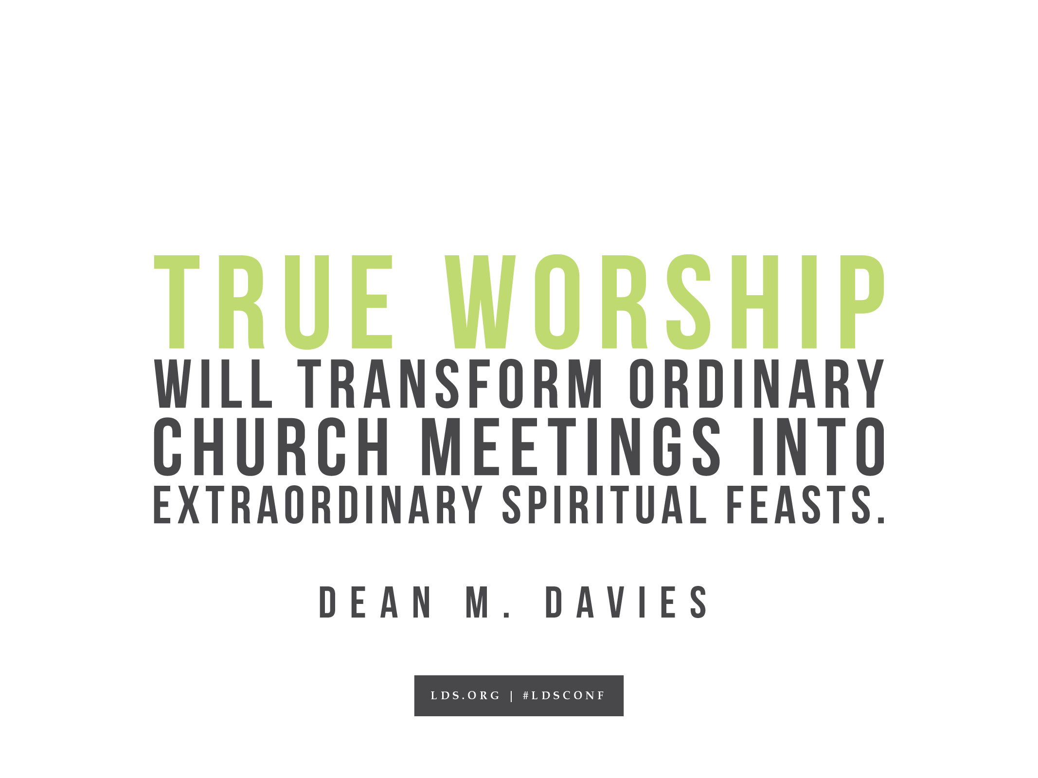 Worship Quotes True Worship