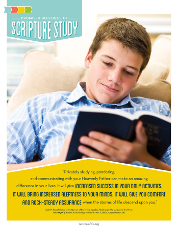 Promised Blessings Of Scripture Study