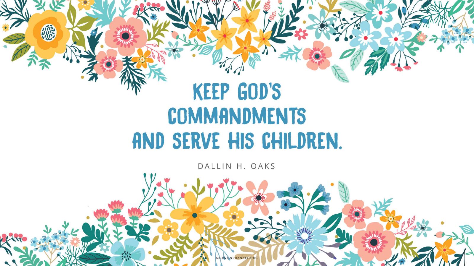 Keep Gods Commandments