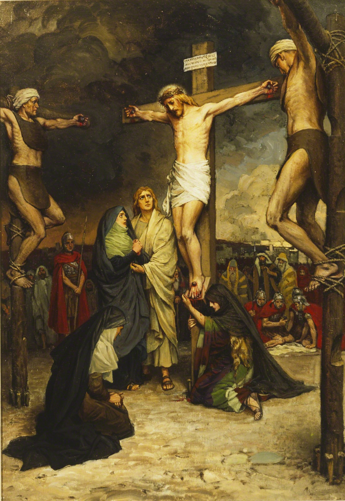 The Crucified Lovers: The Crucifixion Of Christ