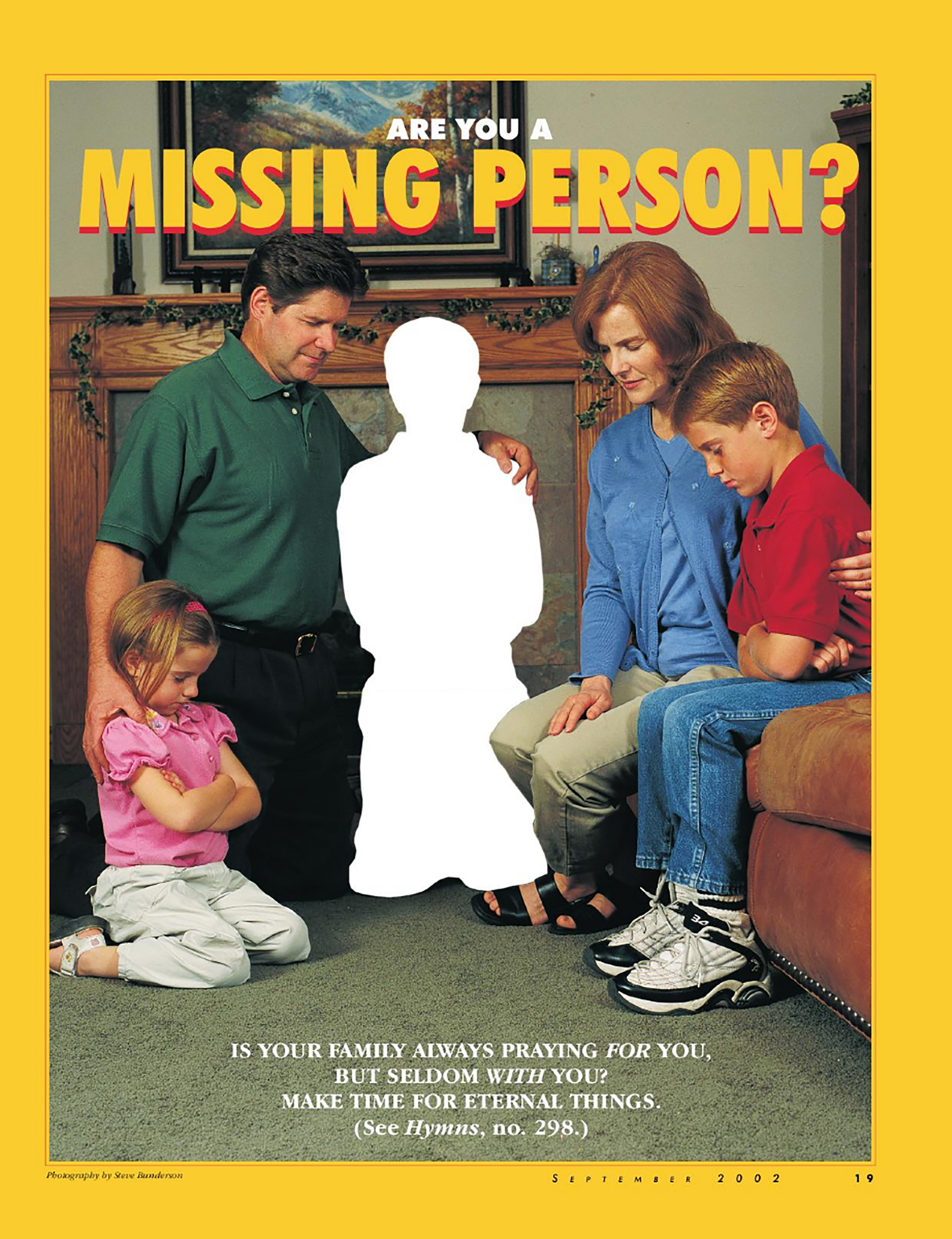 Are You A Missing Person