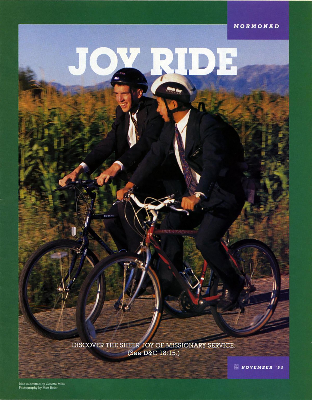 religious mormon riding