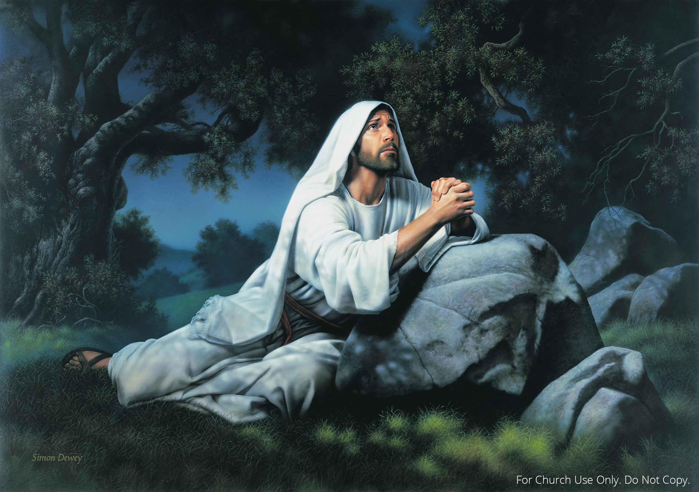 O my father Jesus praying in the garden of gethsemane