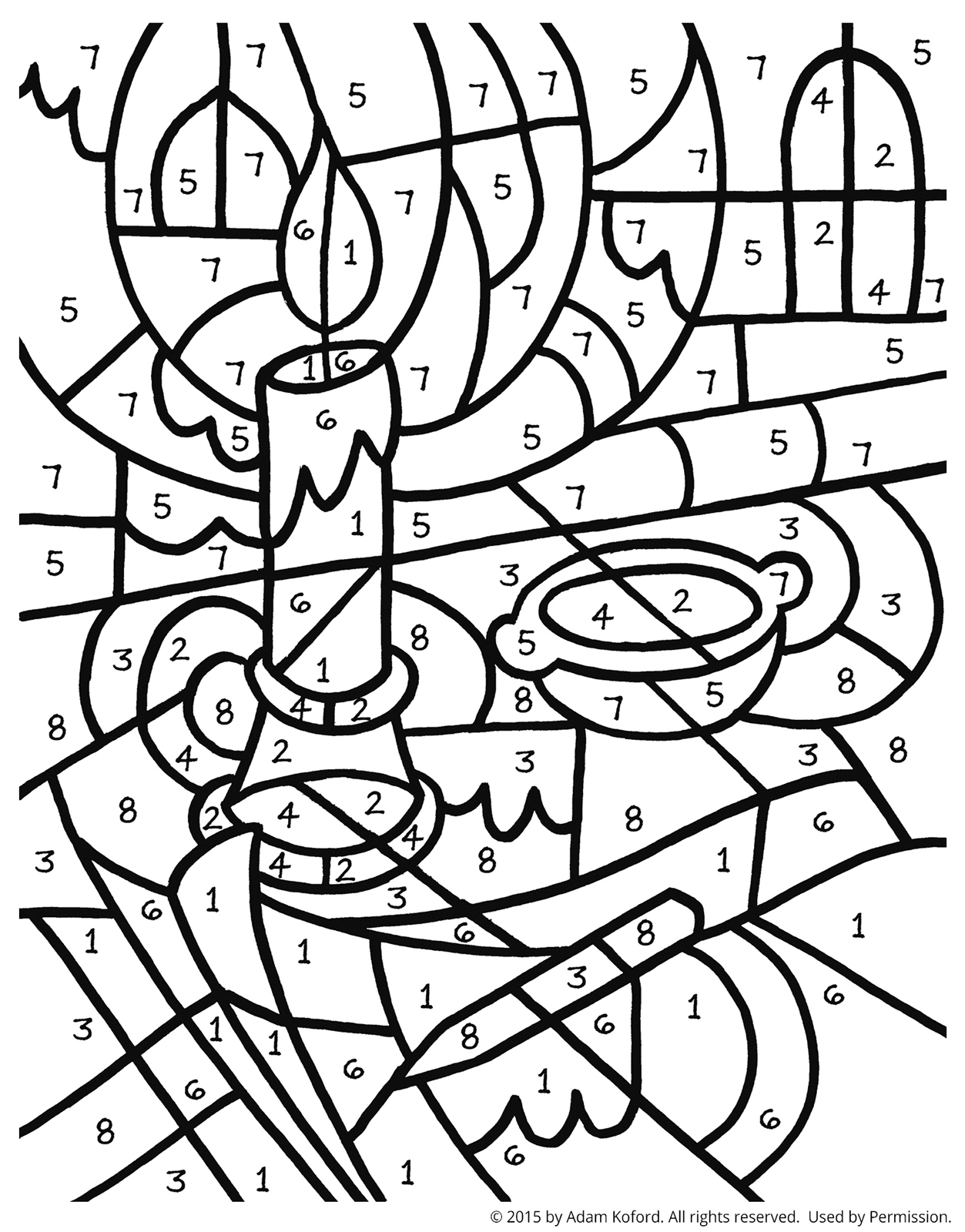 integer coloring activity pages - photo#41