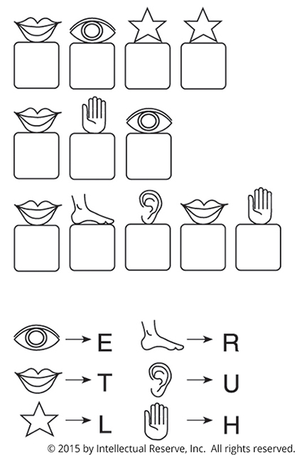 Match Letter to Symbol
