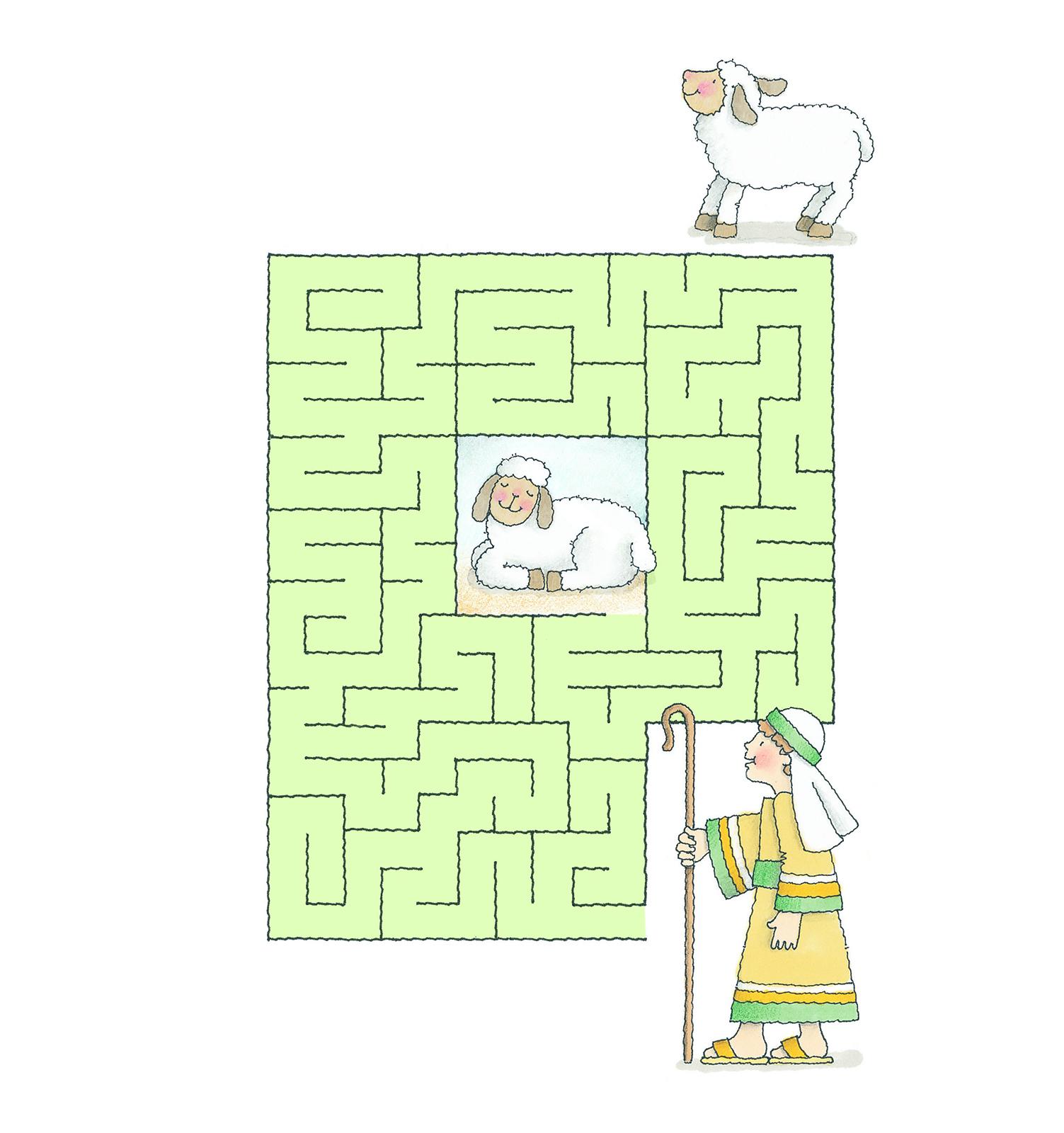 Find My Sheep Maze