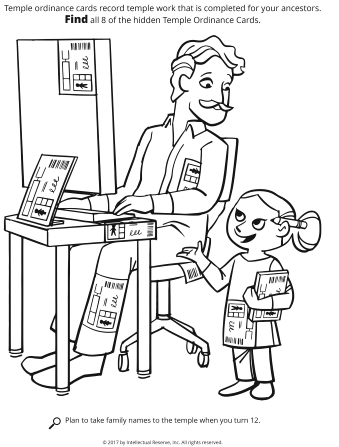 Line Drawing Of A Father Sitting At Computer Talking To His Daughter With Indexing