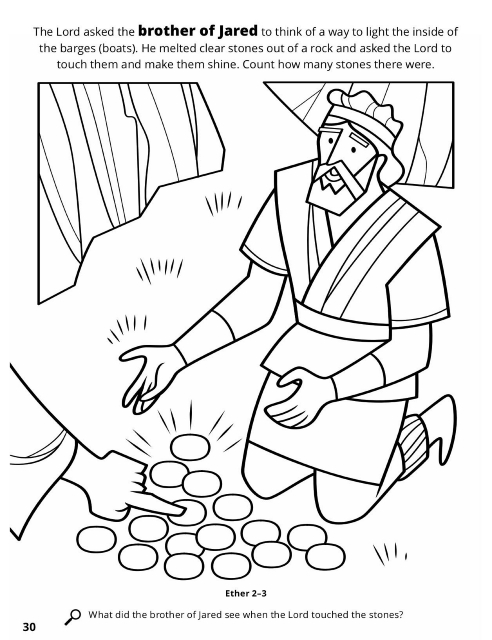 Book Of Mormon Coloring Pages For Adults - Worksheet & Coloring Pages