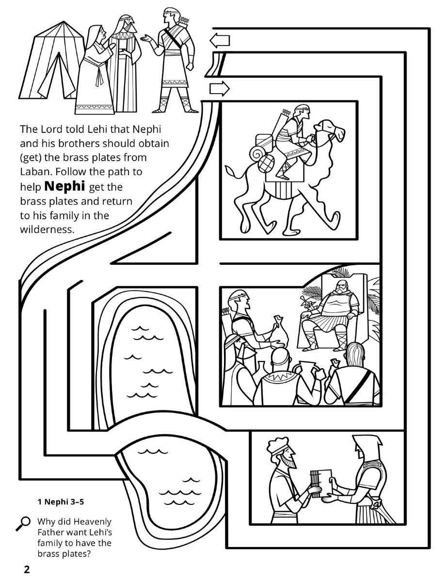 nephi coloring pages - photo#12