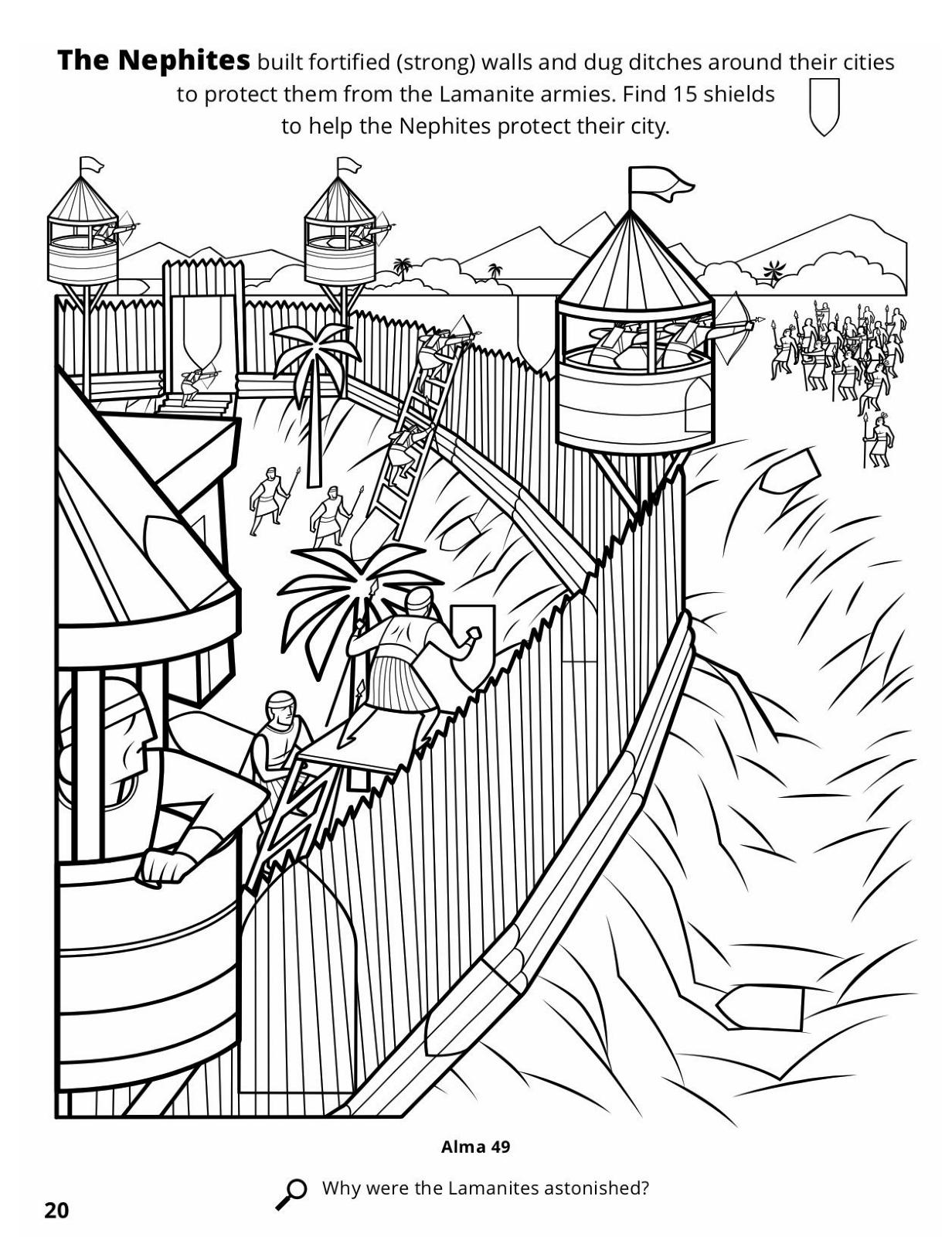 moroni u0027s fortifications