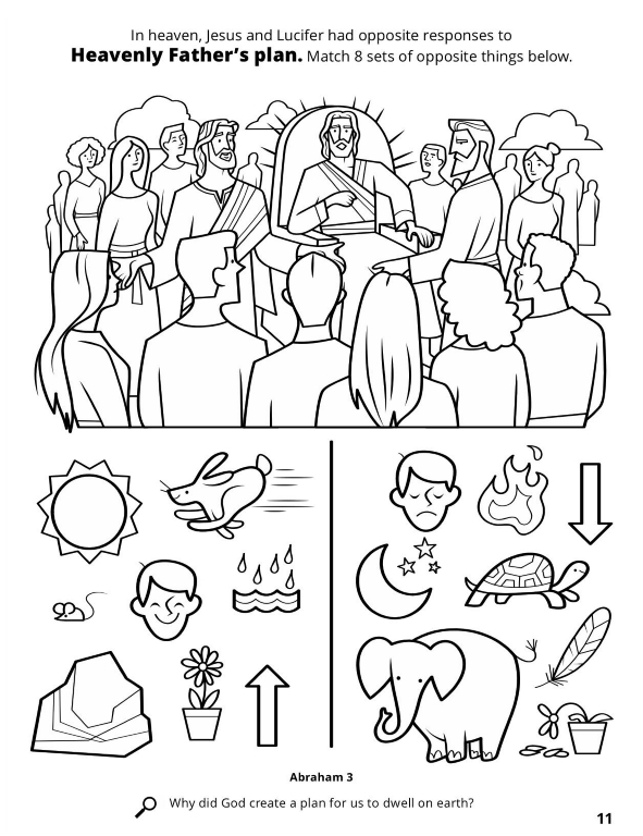 8 Is Great Lds Coloring Pages - Worksheet & Coloring Pages
