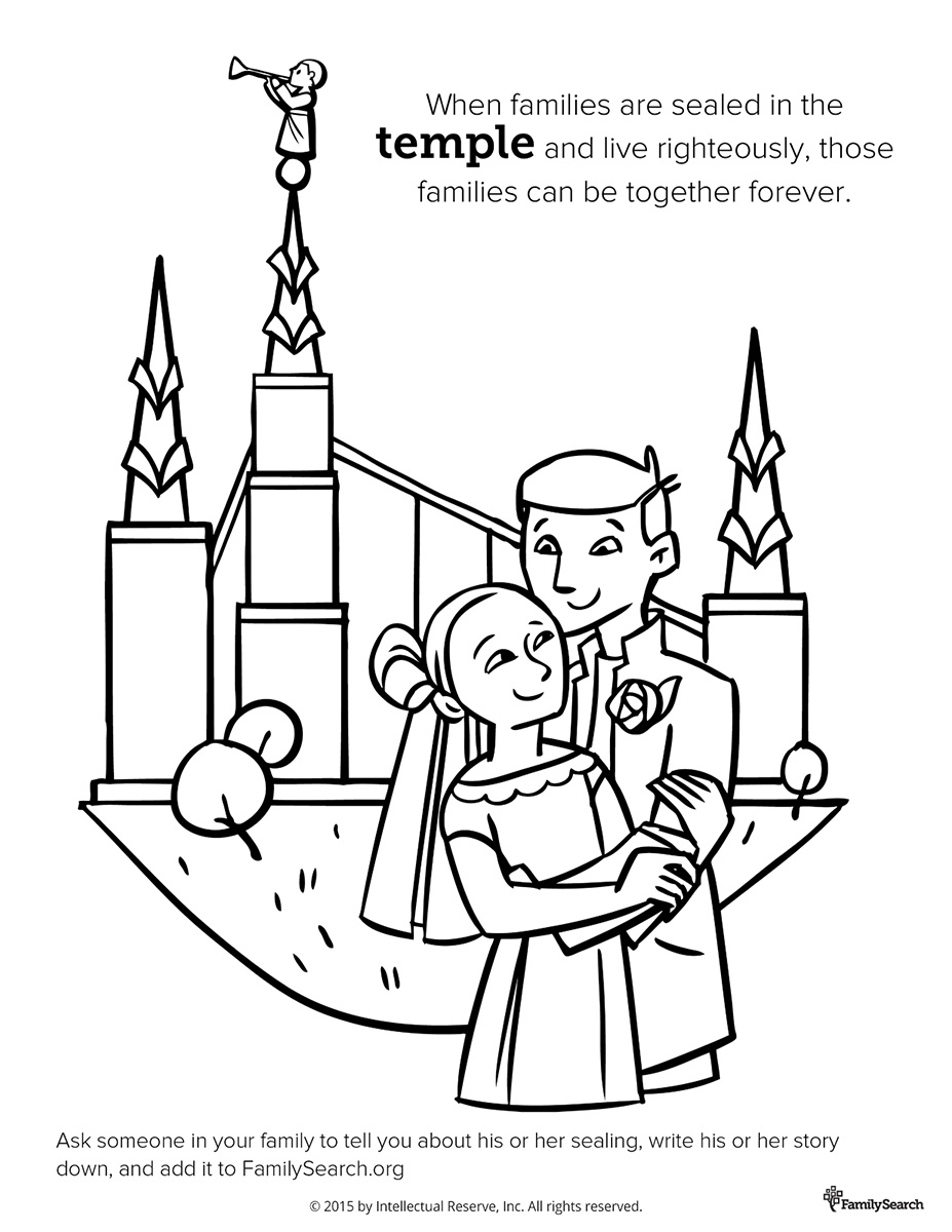 Church Family Coloring Book Pages - Worksheet & Coloring Pages