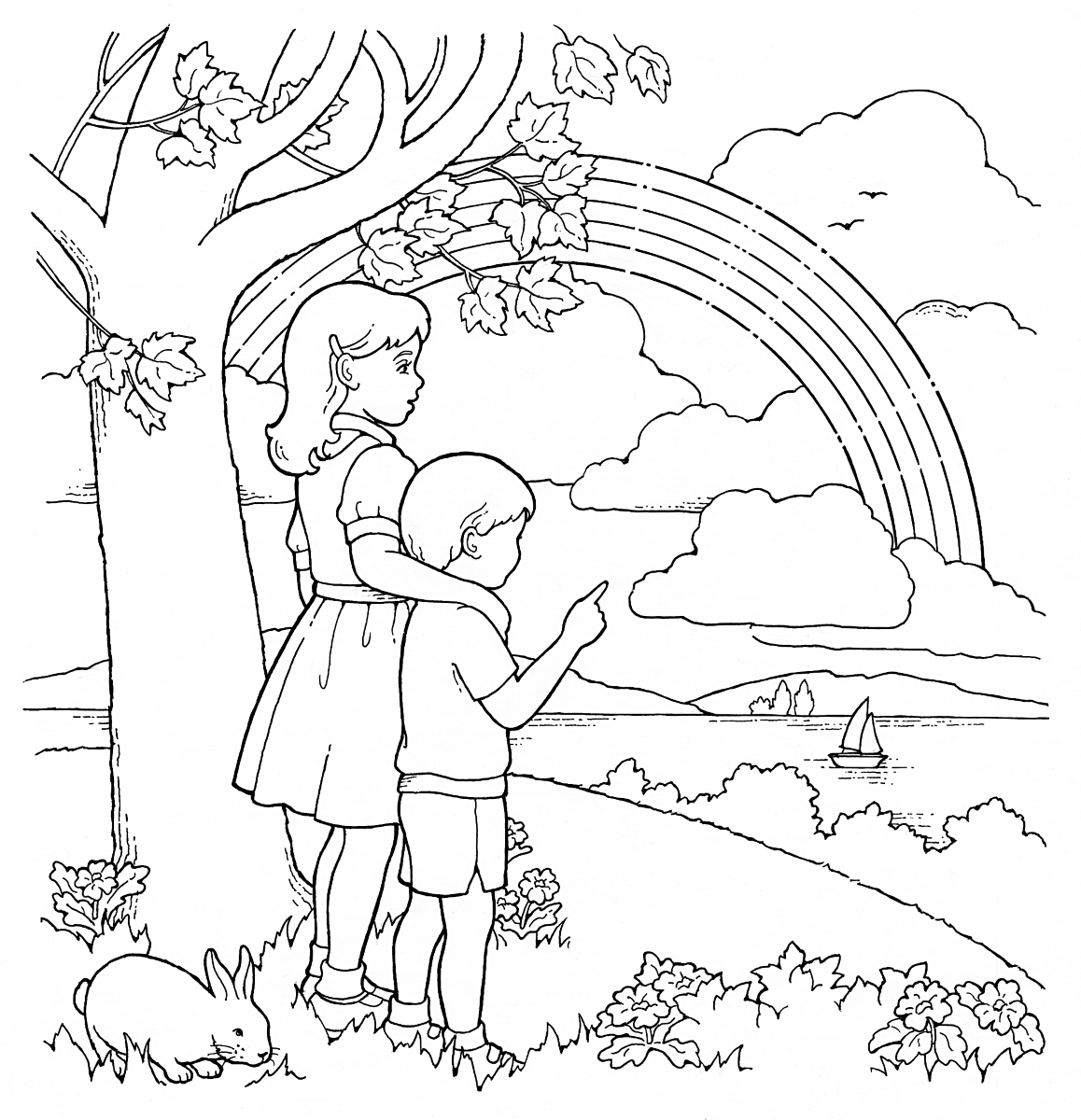 Lds primary coloring pages friends coloring pages for Ds coloring pages