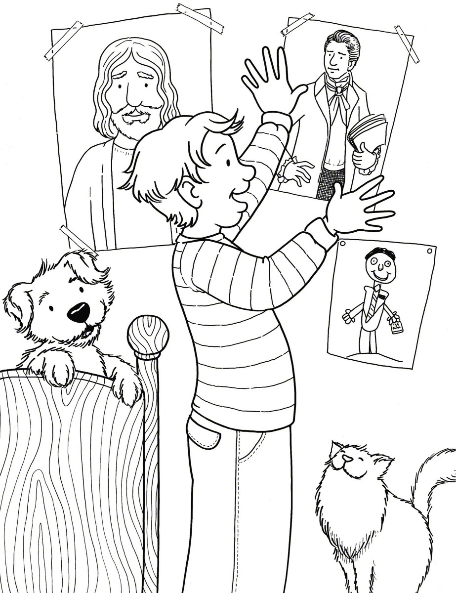Pin lds primary coloring pages on pinterest for Ds coloring pages