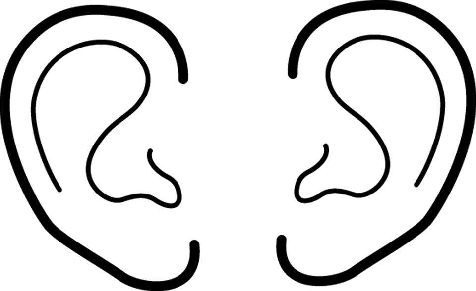ears rh lds org lds org clip art black and white jesus LDS General Conference Clip Art