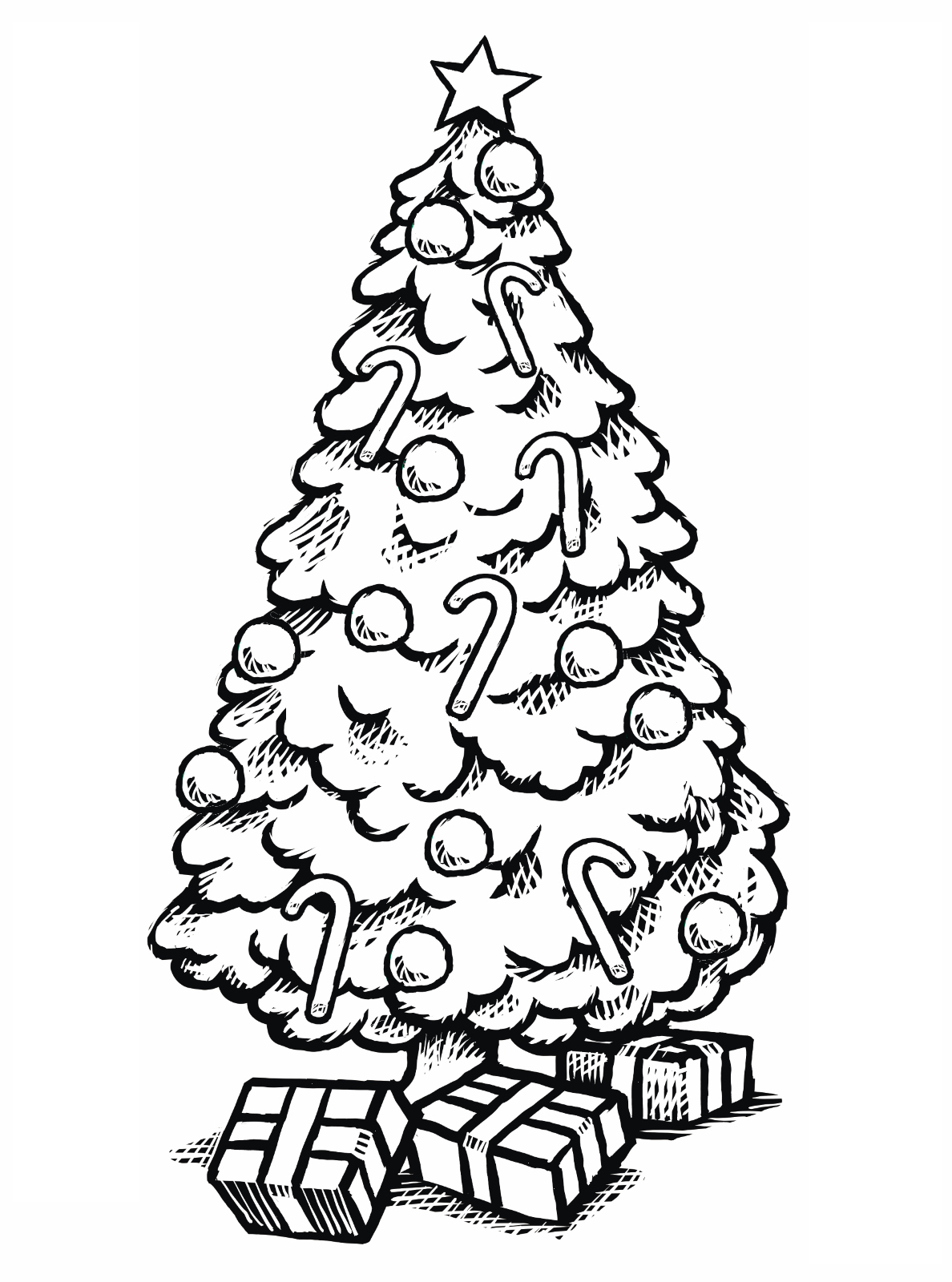 Christmas Tree Coloring