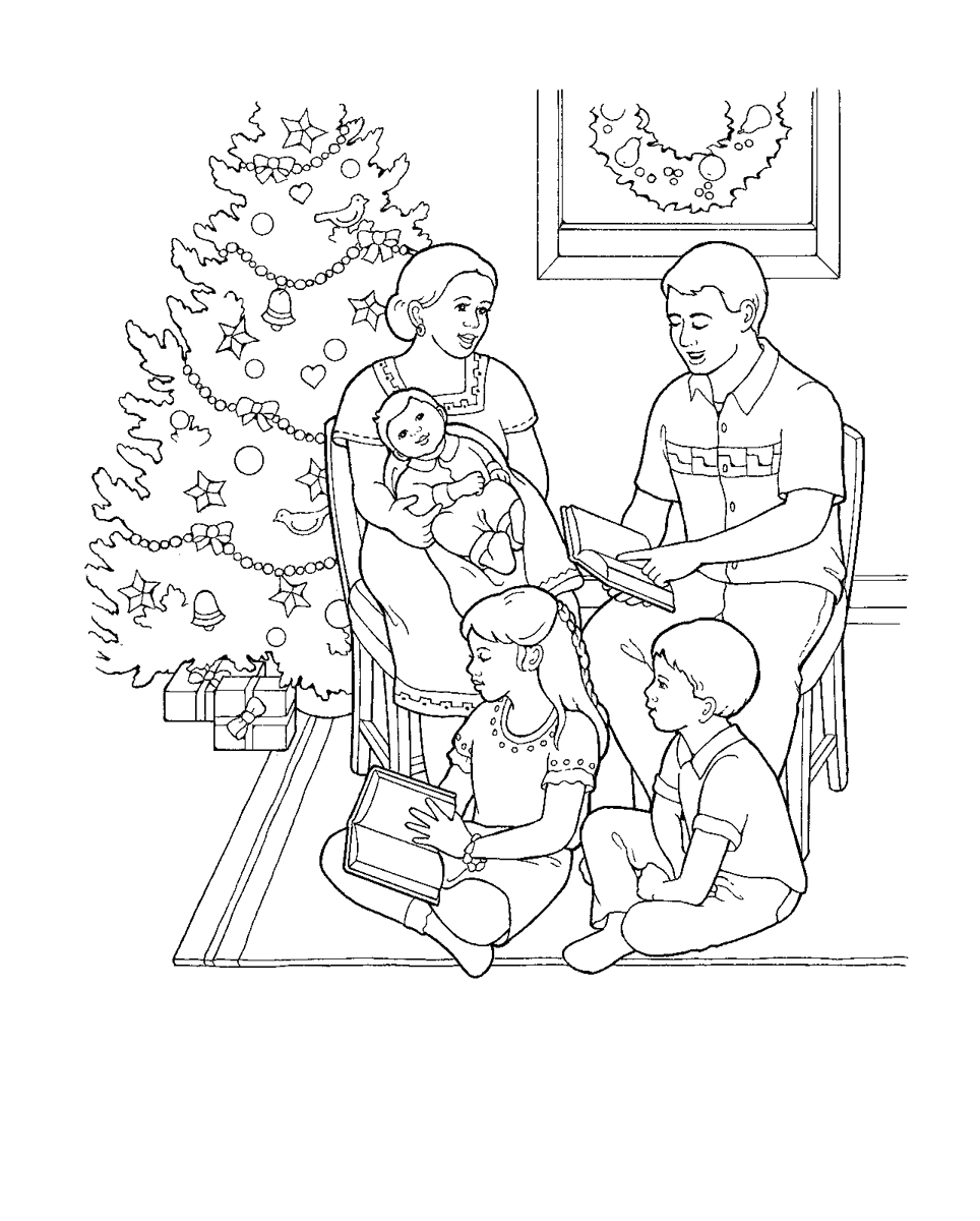 family fun coloring pages christmas - photo#13